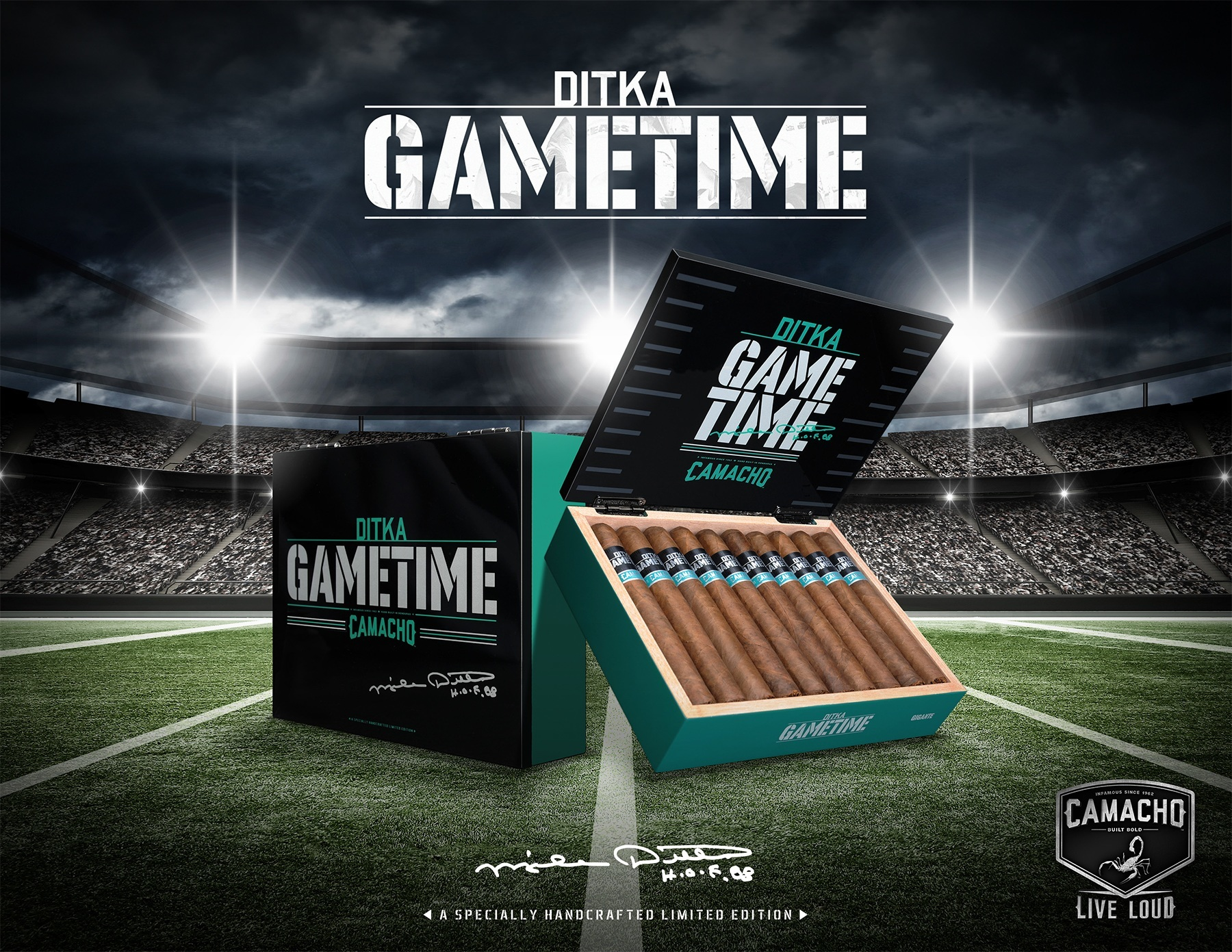 Ditka Game Time promo
