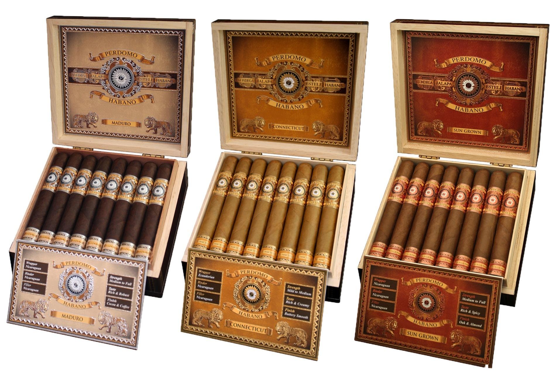 Perdomo Habano Bourbon Barrel-Aged composite feautre