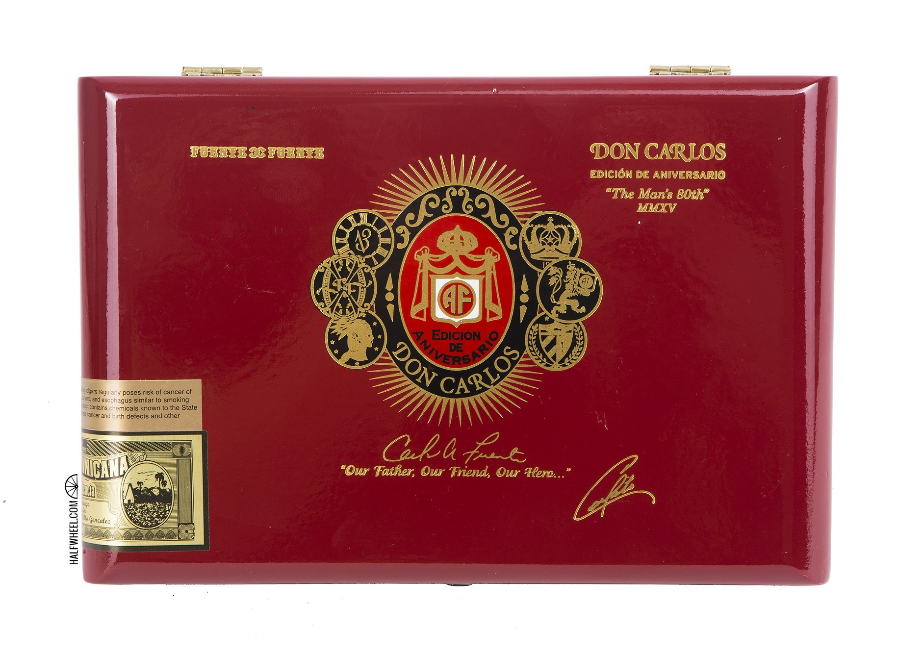 Arturo Fuente Don Carlos Eye of the Shark Box 1