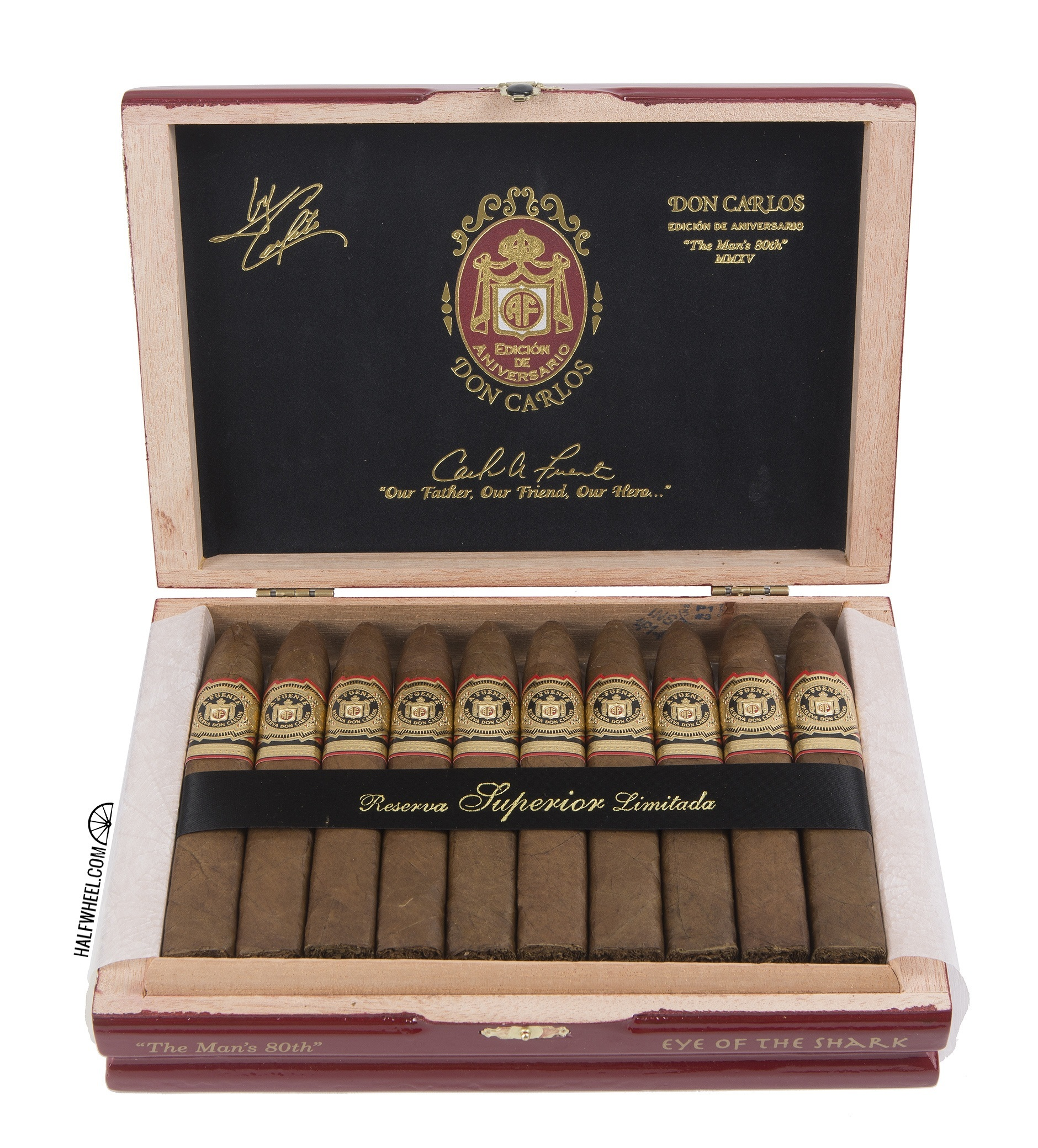 Arturo Fuente Don Carlos Eye of the Shark Box 2