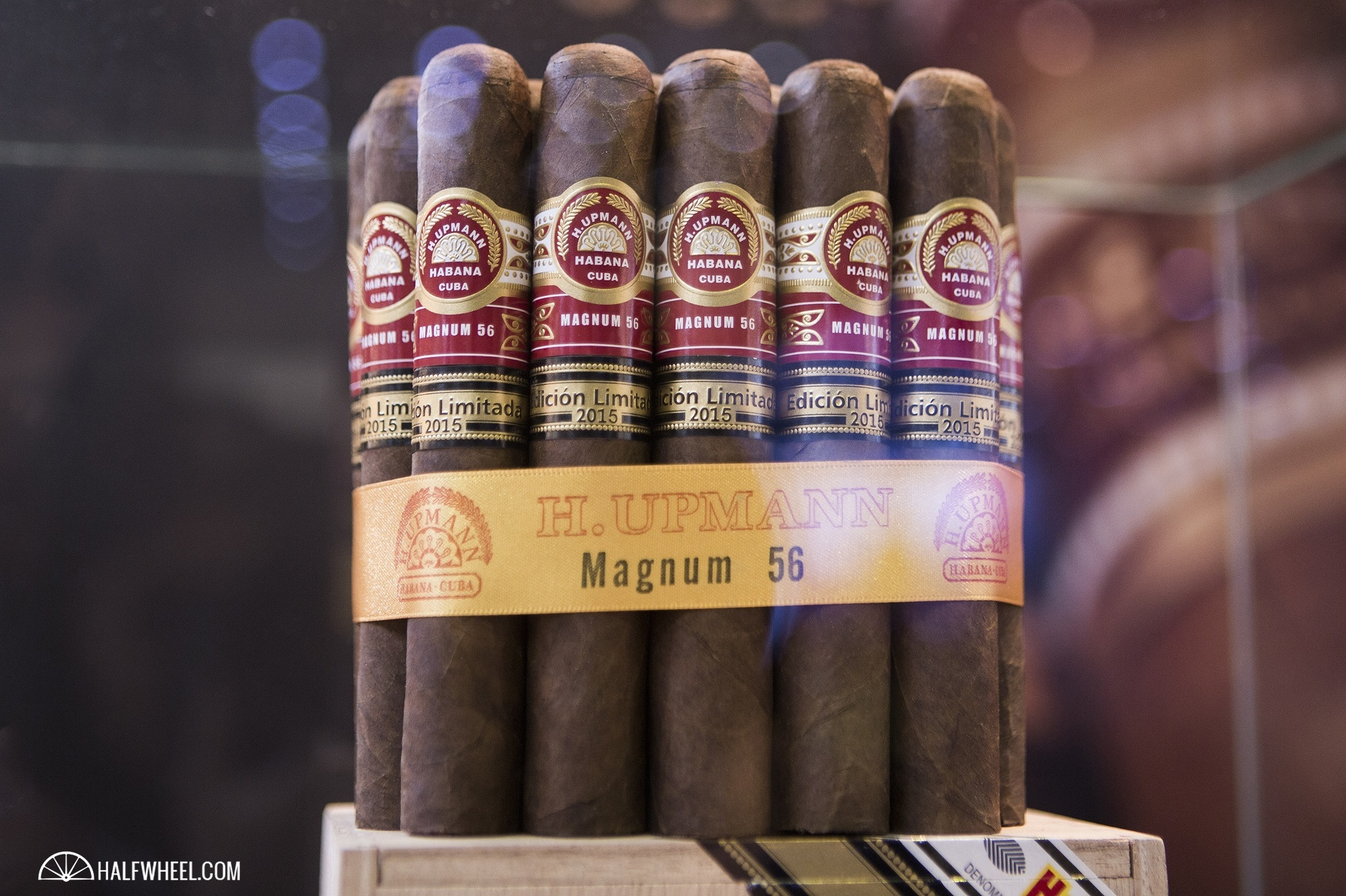 Habanos S.A. displays product in the 5th Avenue booth. 5th Avenue is the distributor of Cuban cigars in Germany.