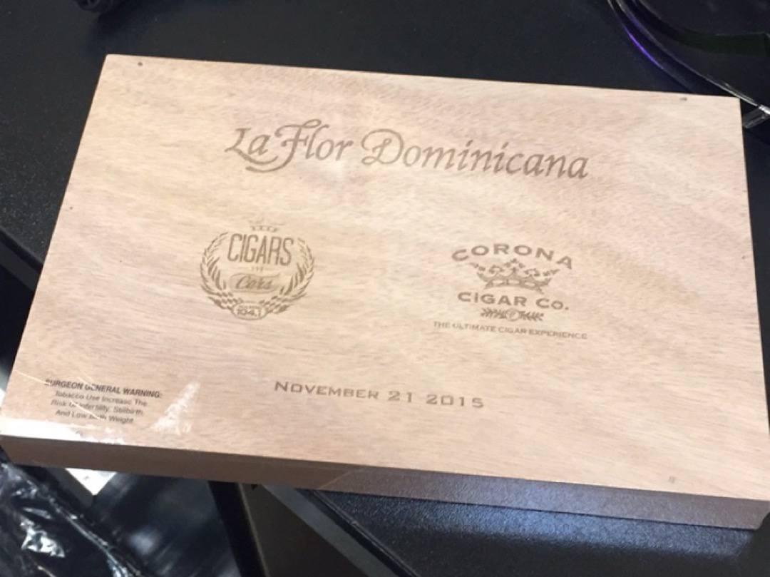 La Flor Dominicana Corona Cigars and Cars