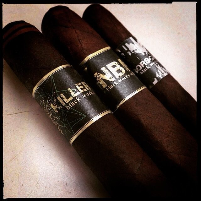 Black Works Studio debut cigars