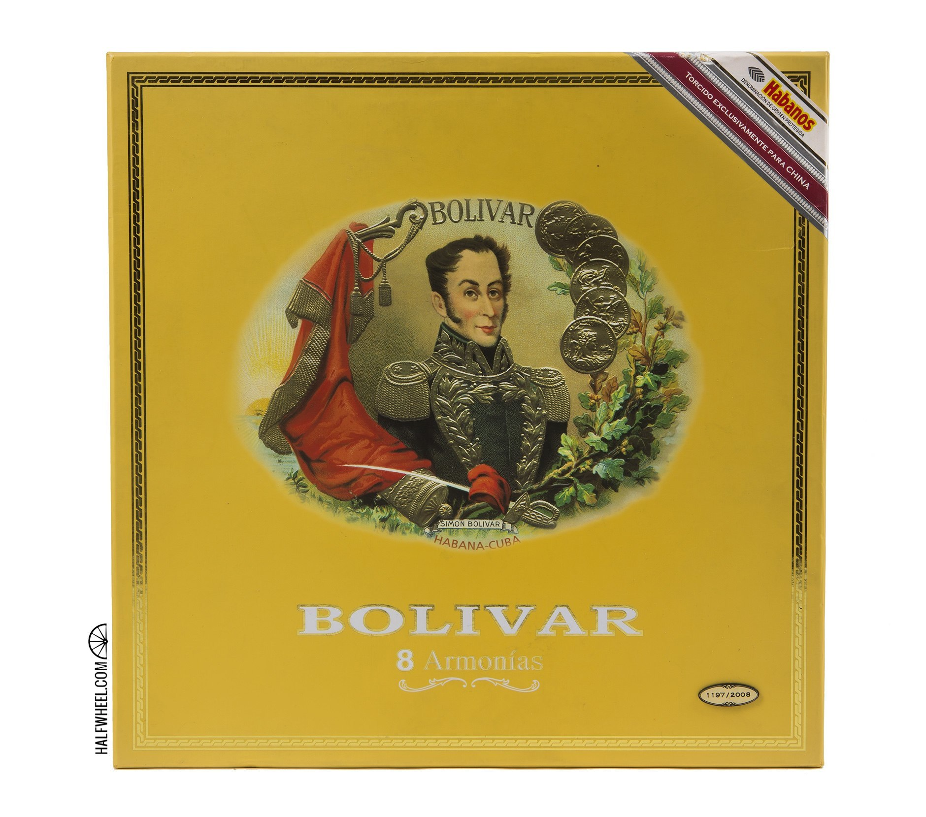 Bolivar Armonia (ER China 2008) Box 1