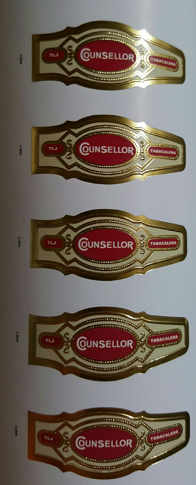 Counsellor Cigar Bands