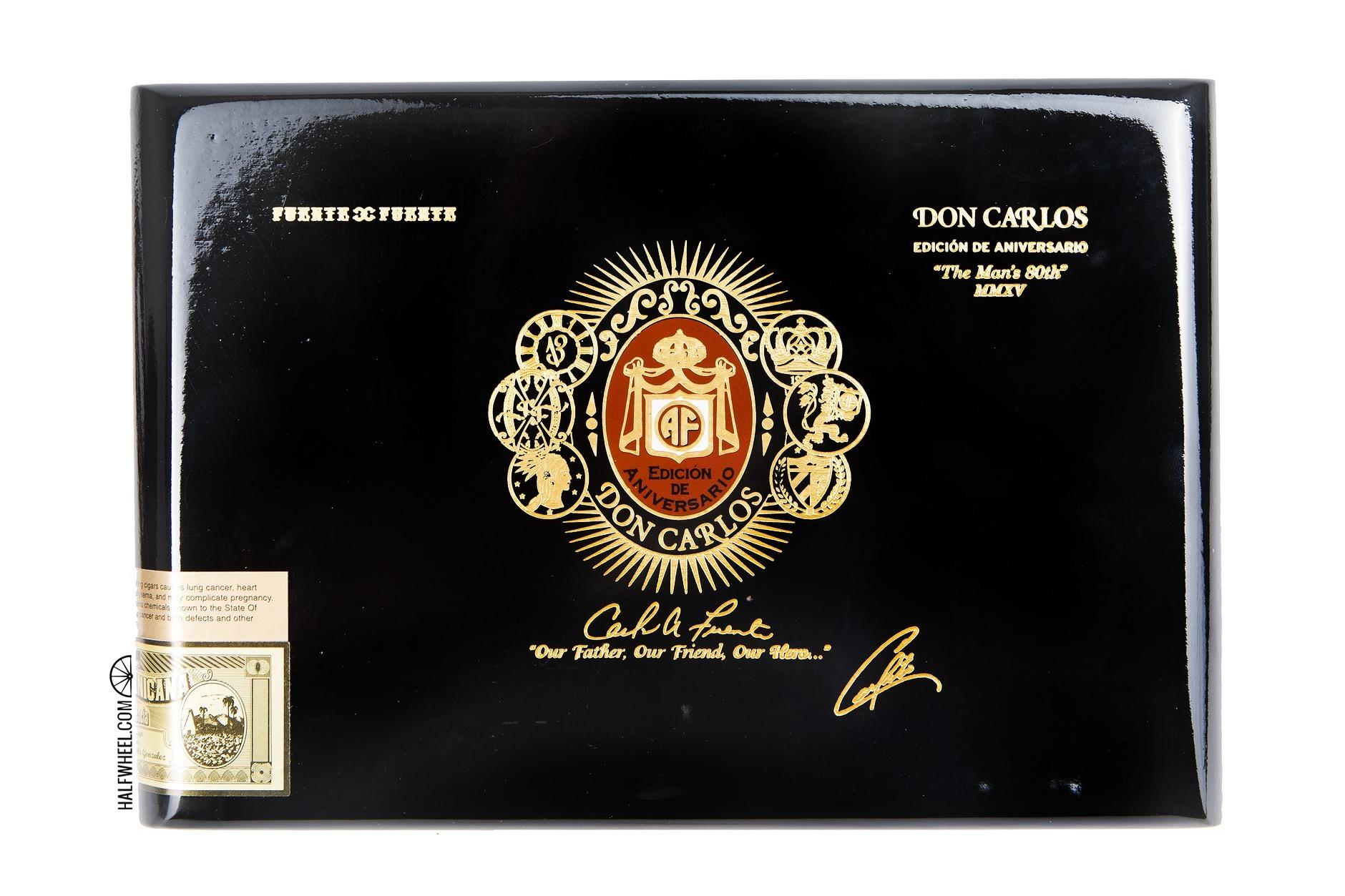Don Carlos Personal Reserve Robusto Box 2