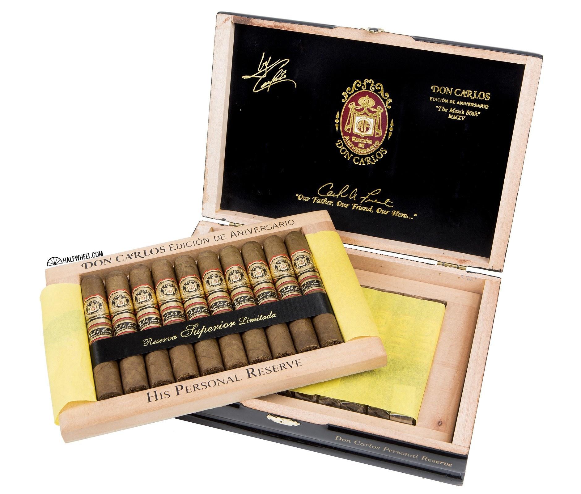 Don Carlos Personal Reserve Robusto Box 3