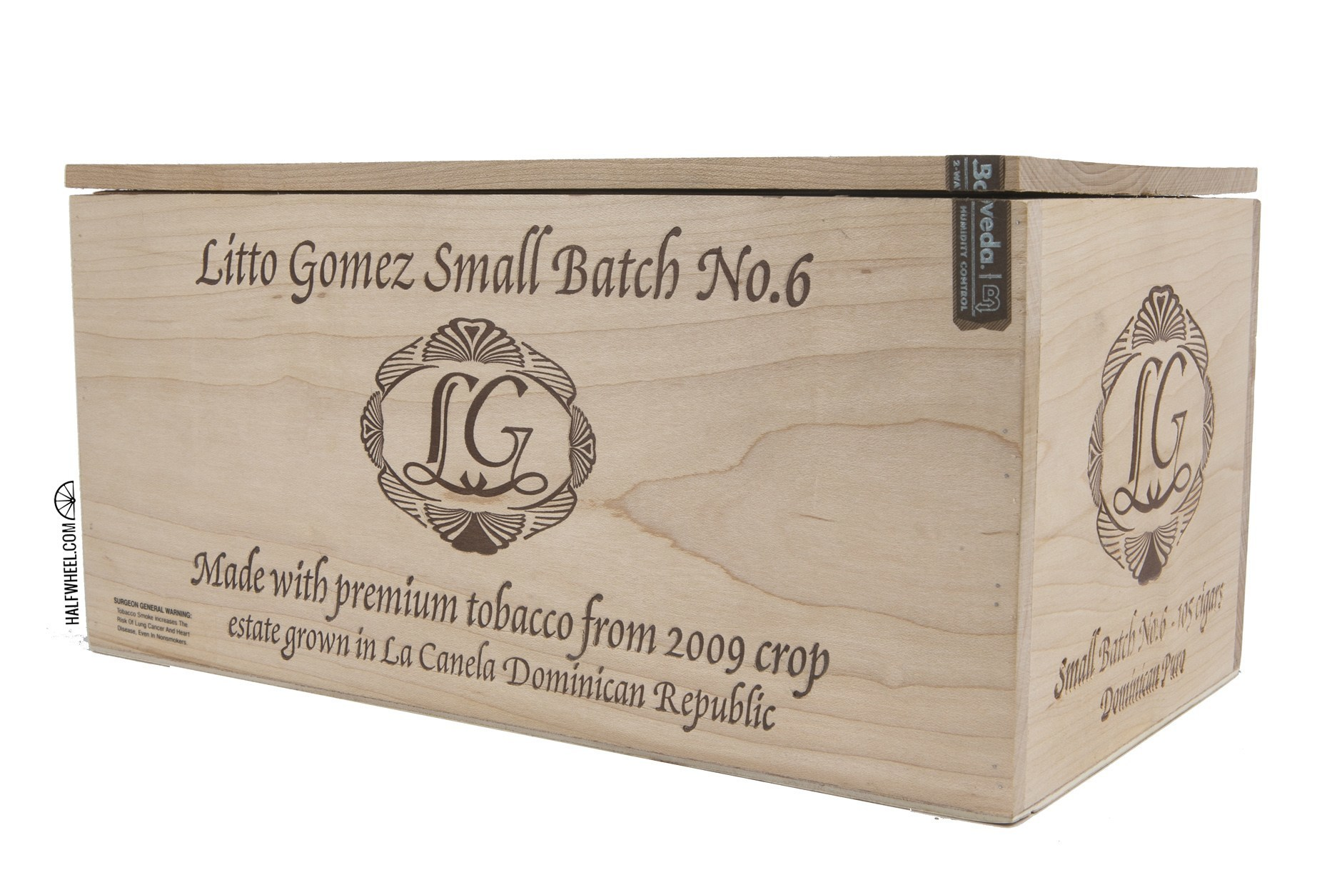 Litto Gomez Small Batch No. 6 Box 1