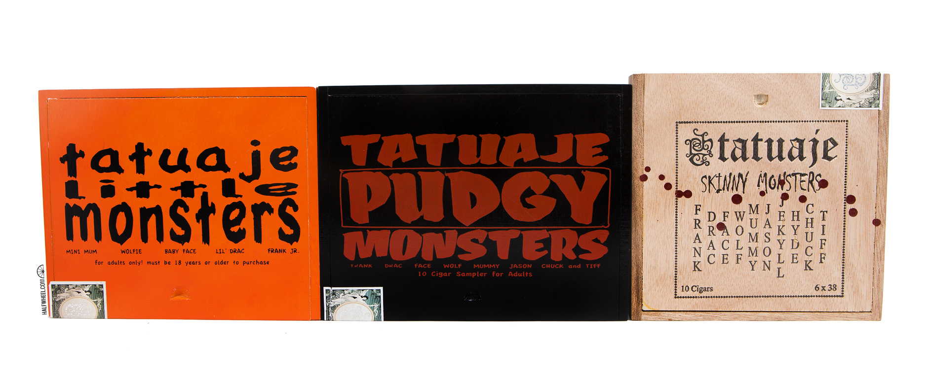 Tatuaje Monster Series Sampler Boxes