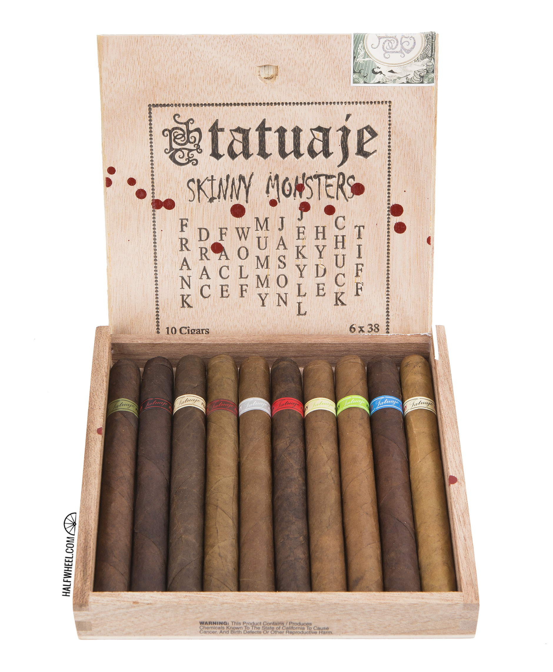 Tatuaje Skinny Monsters Box 3