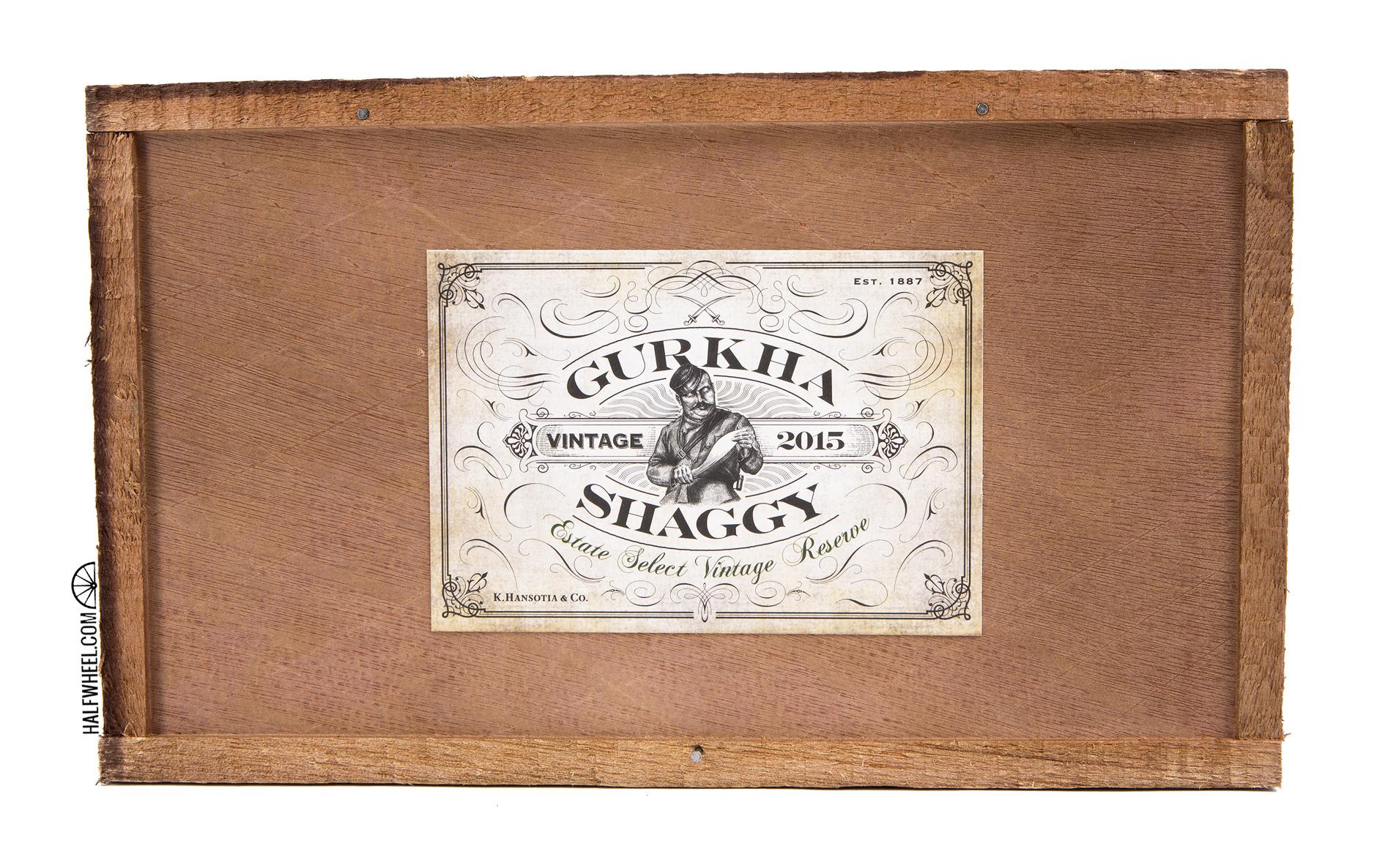 Gurkha Shaggy Vintage Robusto (2016) Box 1
