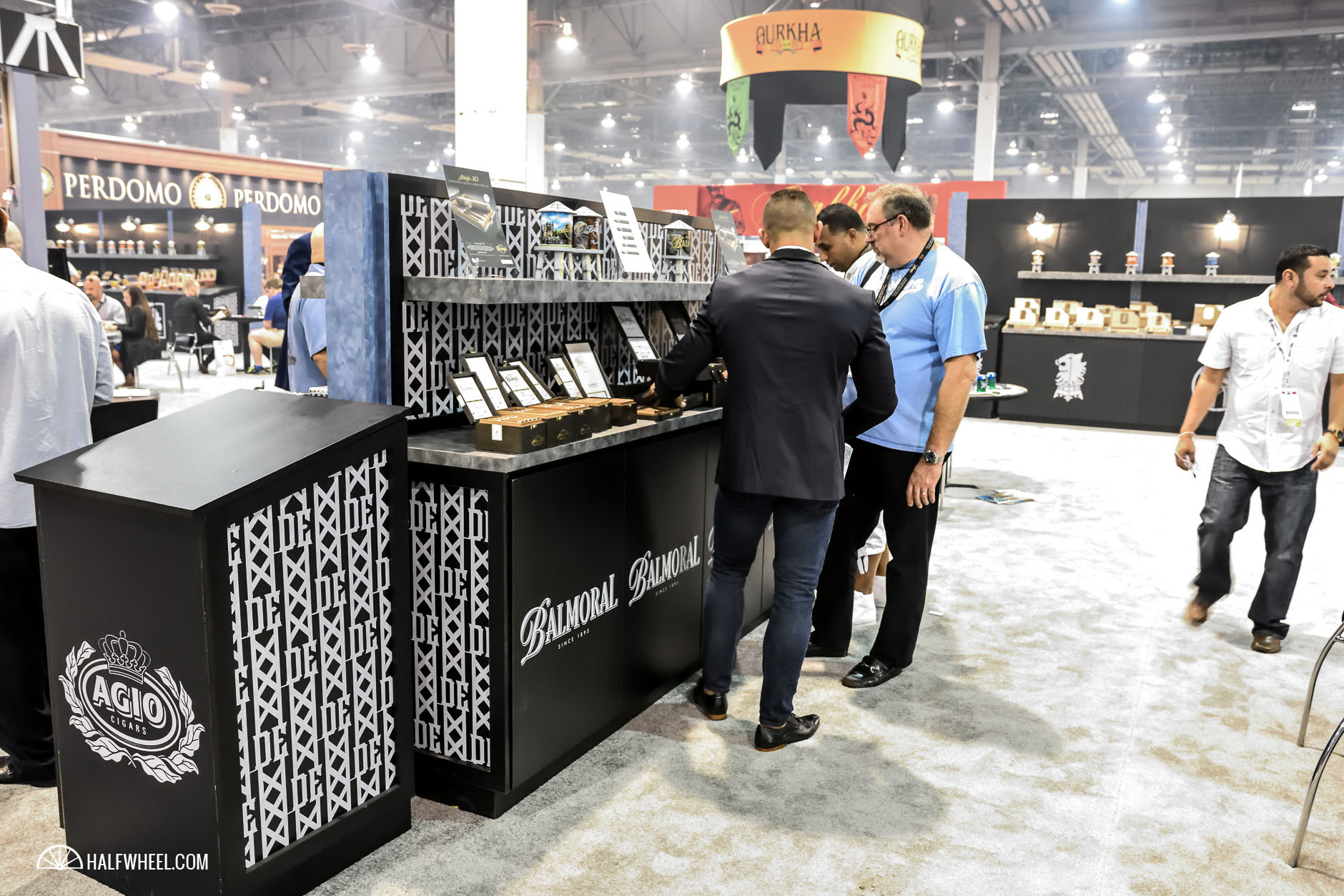 Agio Cigars booth IPCPR 2016