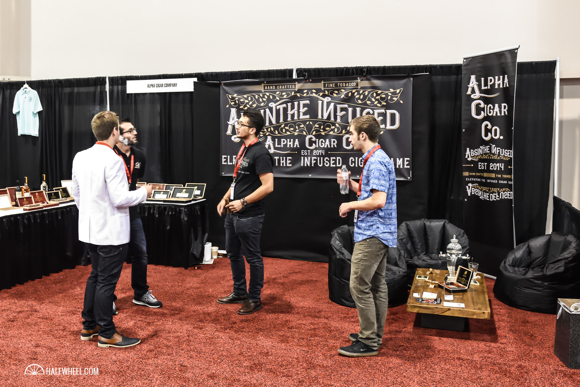 Alpha Cigar Company booth IPCPR 2016