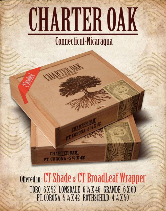 Charter Oak Poster