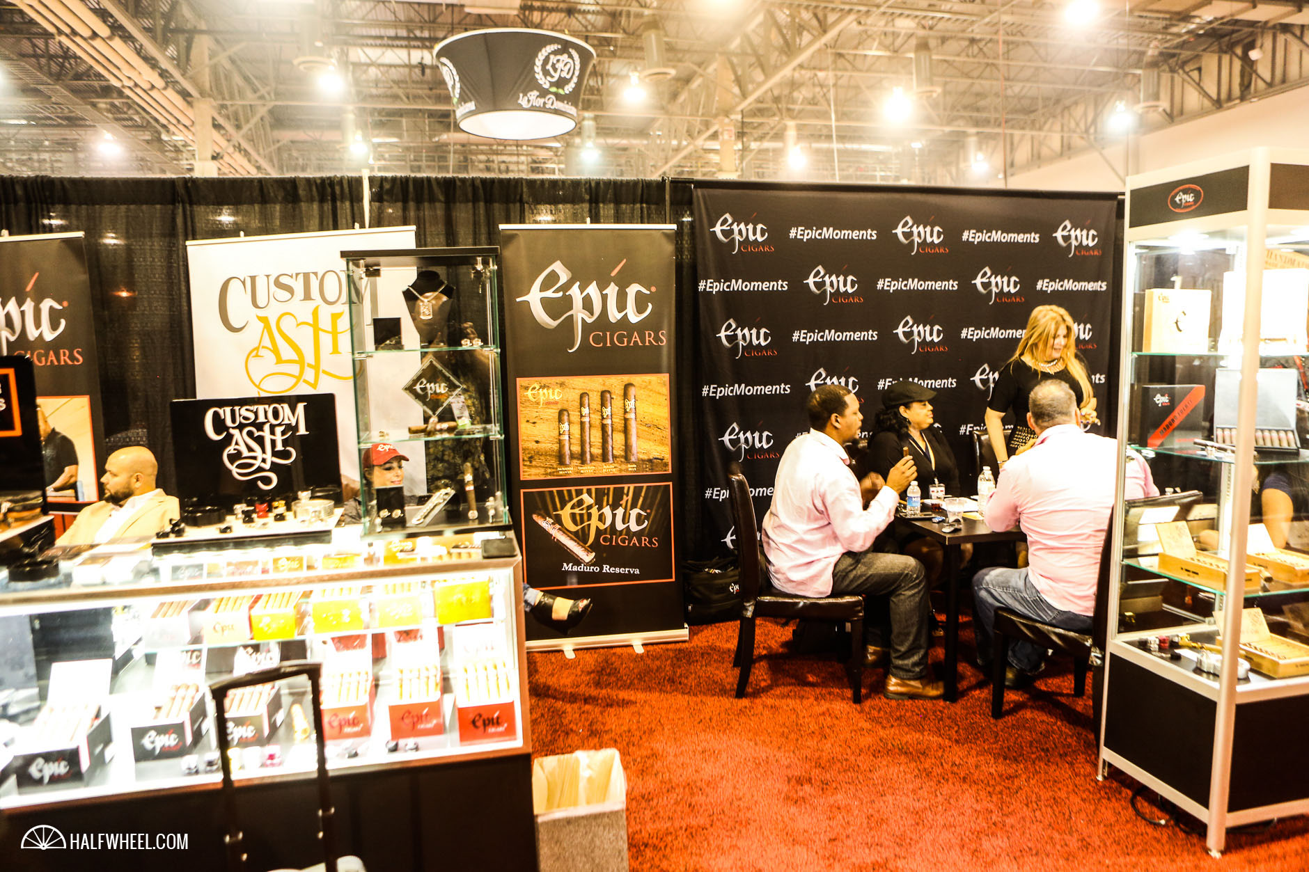 Epic Cigars Booth