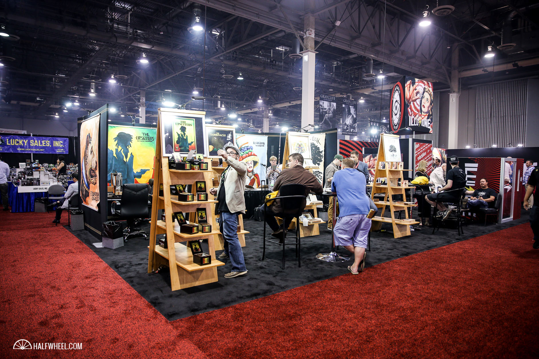 Foundation Booth IPCPR 2016