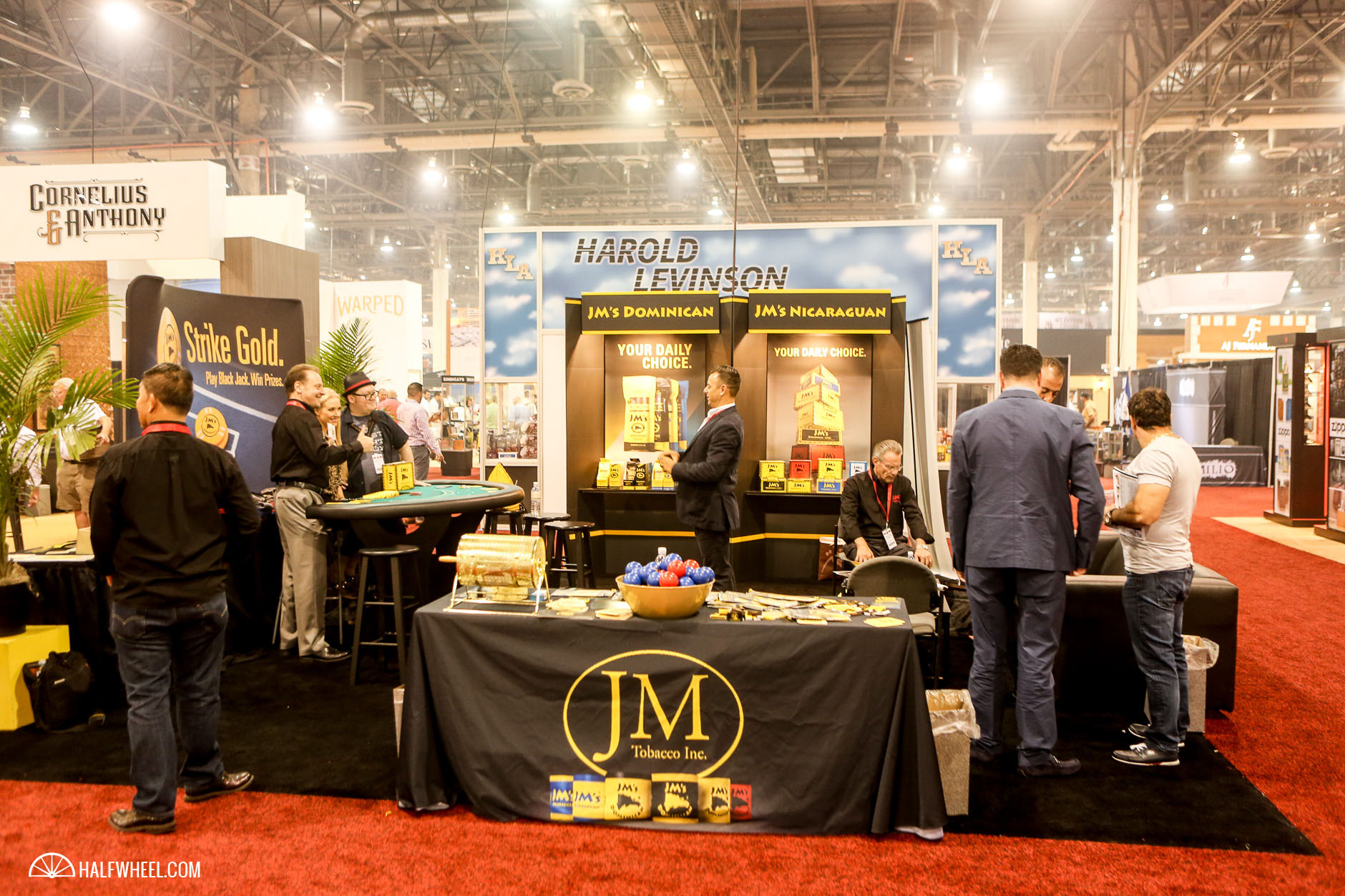 JM Tobacco Booth