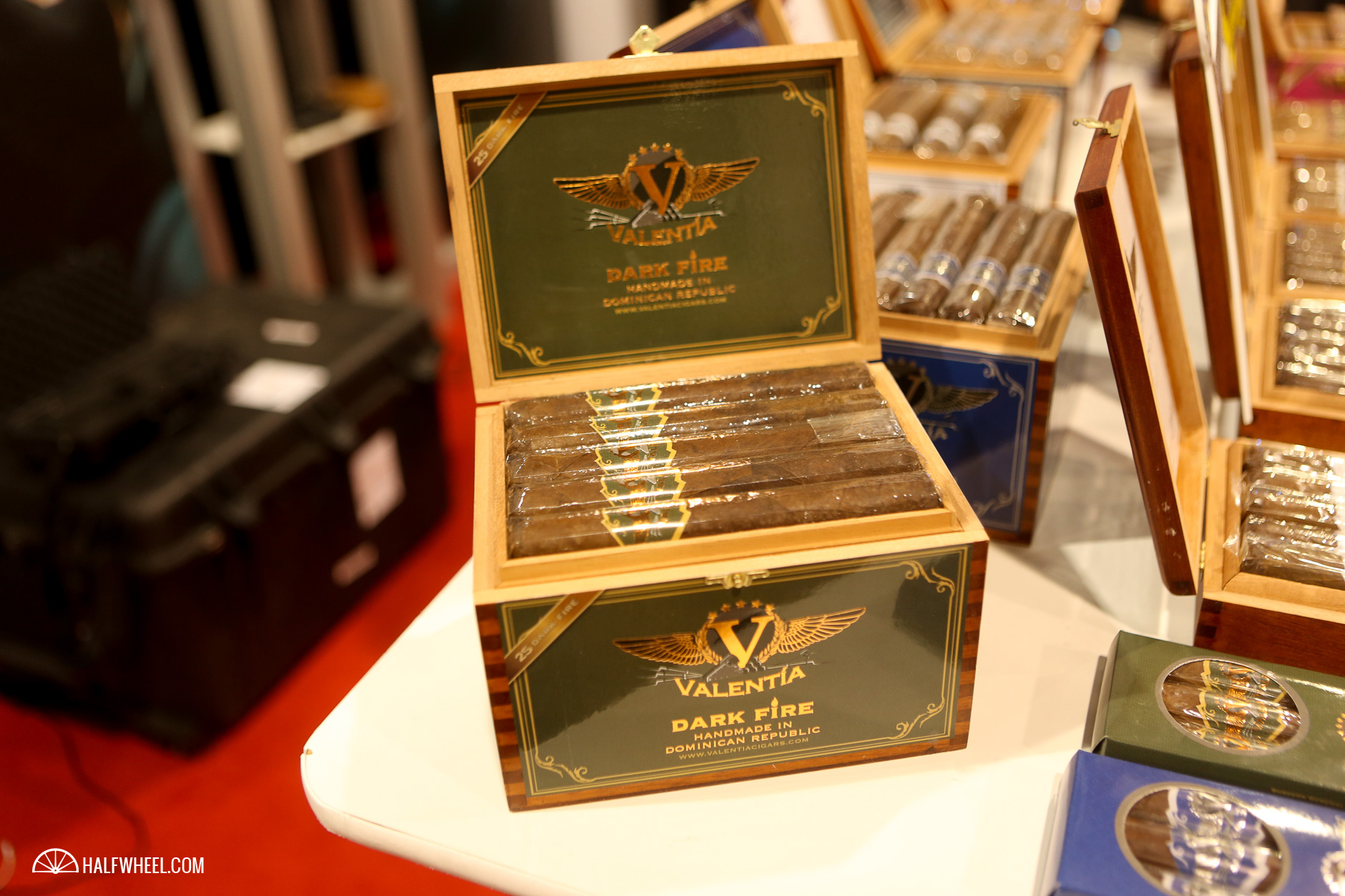 Valentia Cigars Dark Fire IPCPR 2016