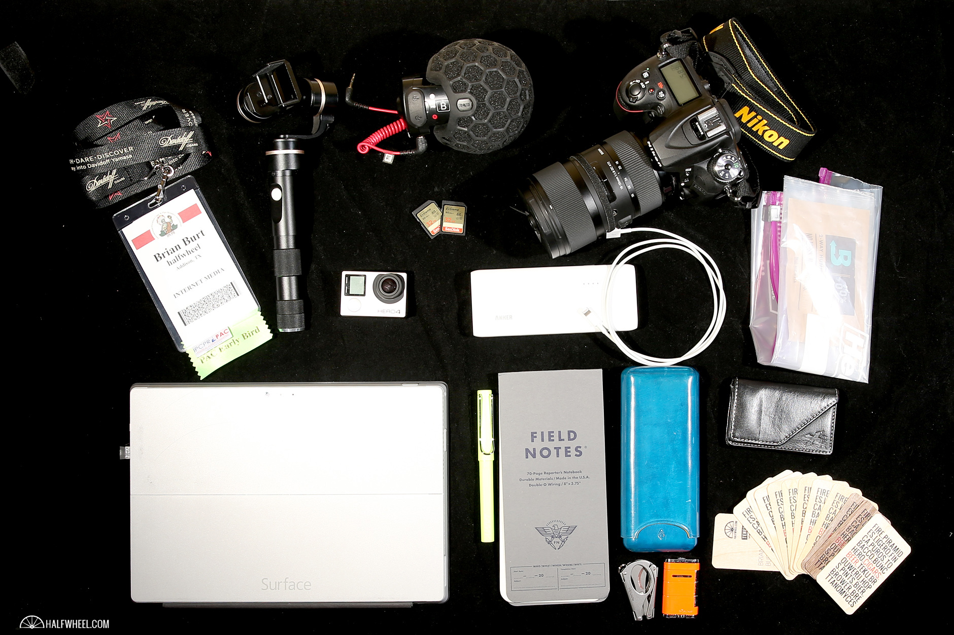 What's in My Bag — Brian Burt 2