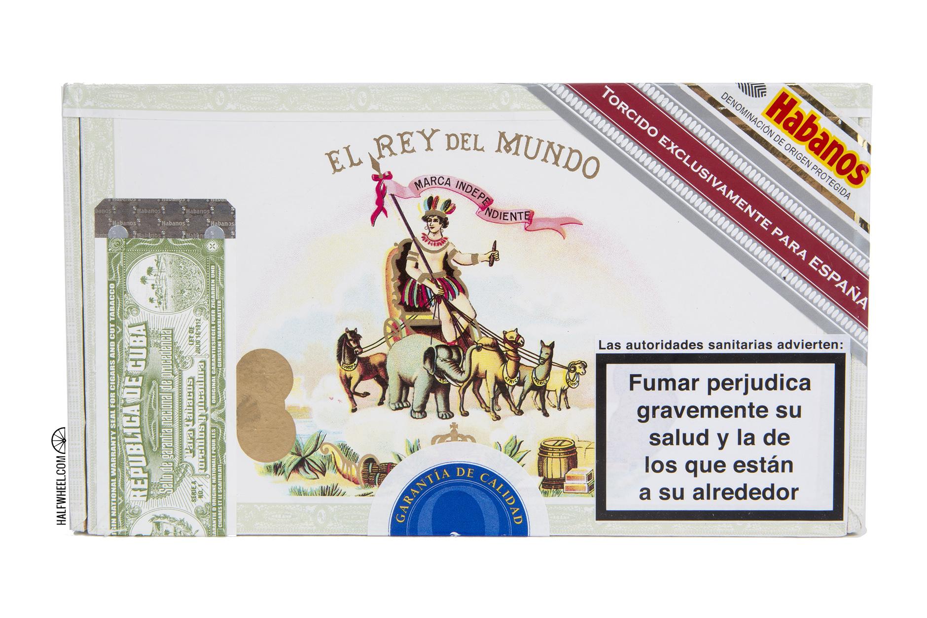 El Rey del Mundo Petit Robustos Edición Regional España (2015) Box Top
