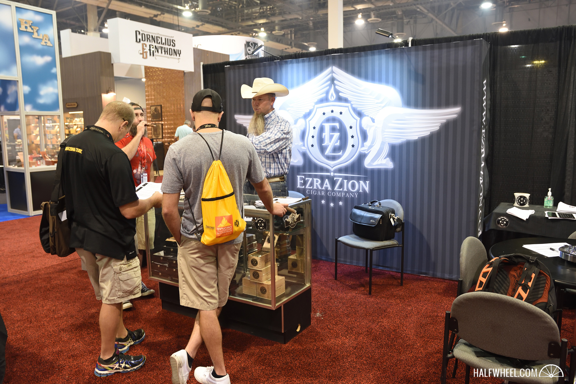 Ezra Zion booth IPCPR 2016