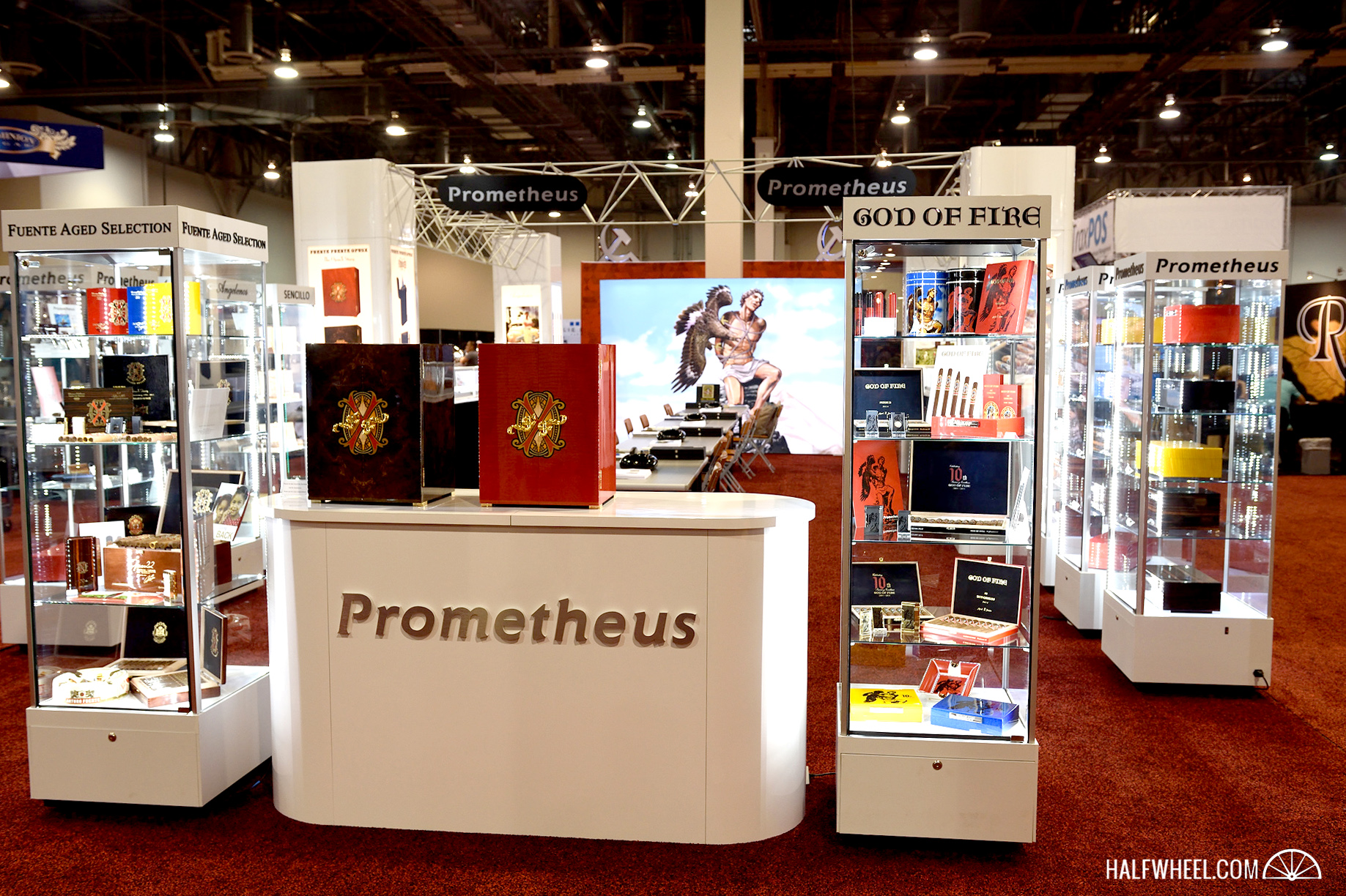 Prometheus booth IPCPR 2016