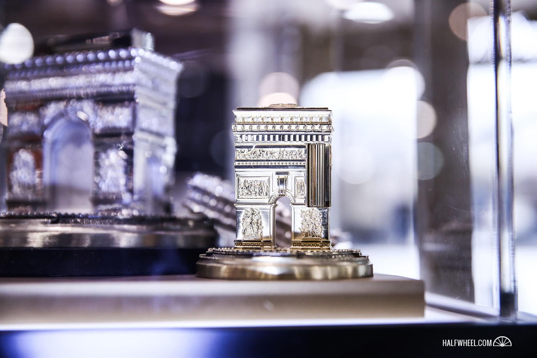 S.T.Dupont Arc de Triomphe by Tournaire Lighter