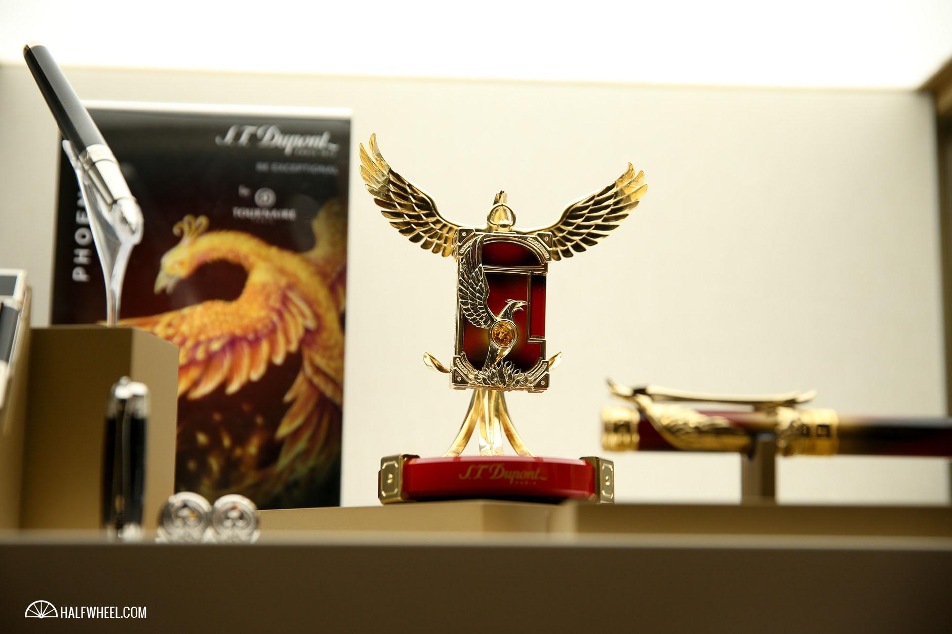S.T.Dupont Phoenix Renaissance Prestige Lighter Base