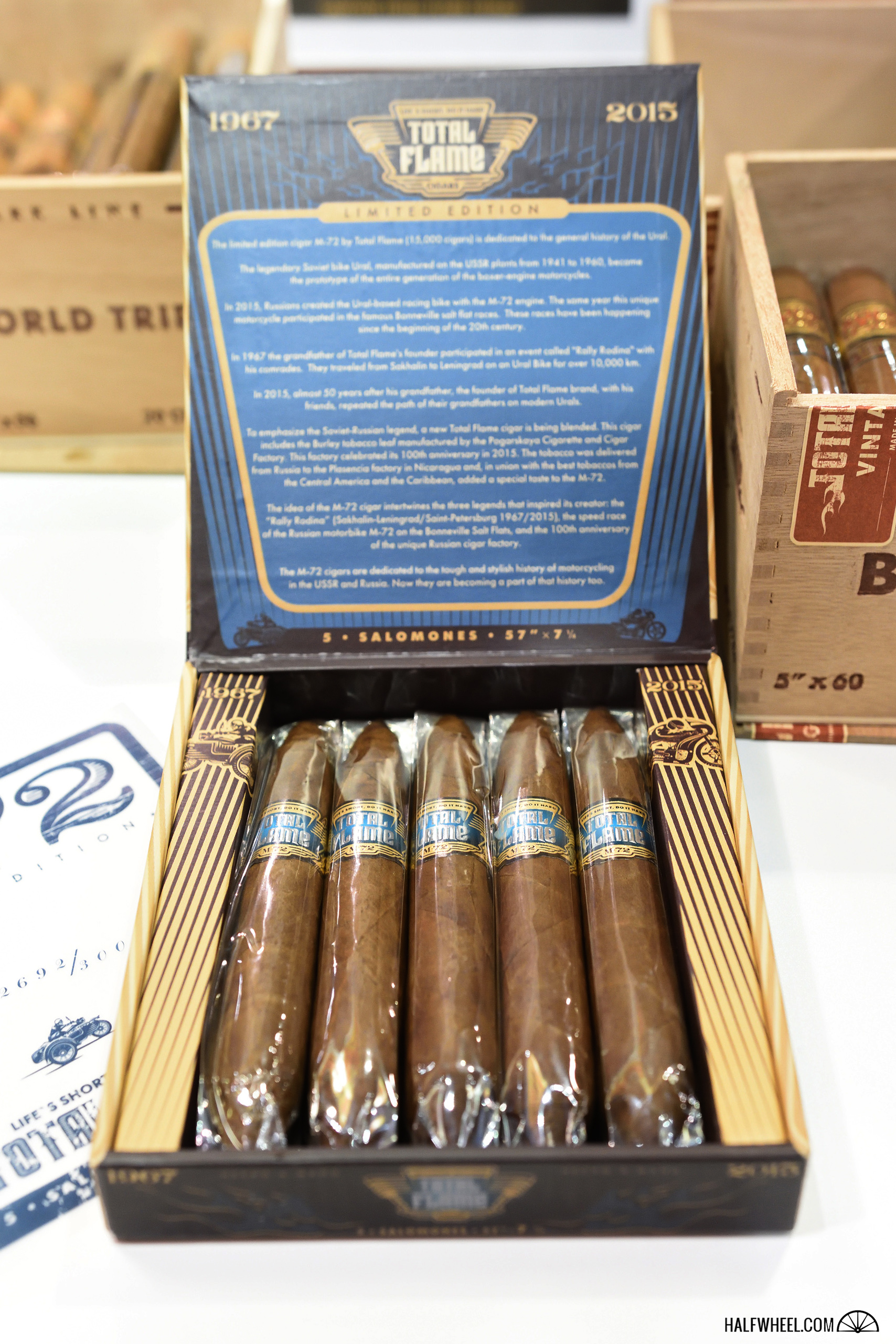 Total Cigars M-72 IPCPR 2016