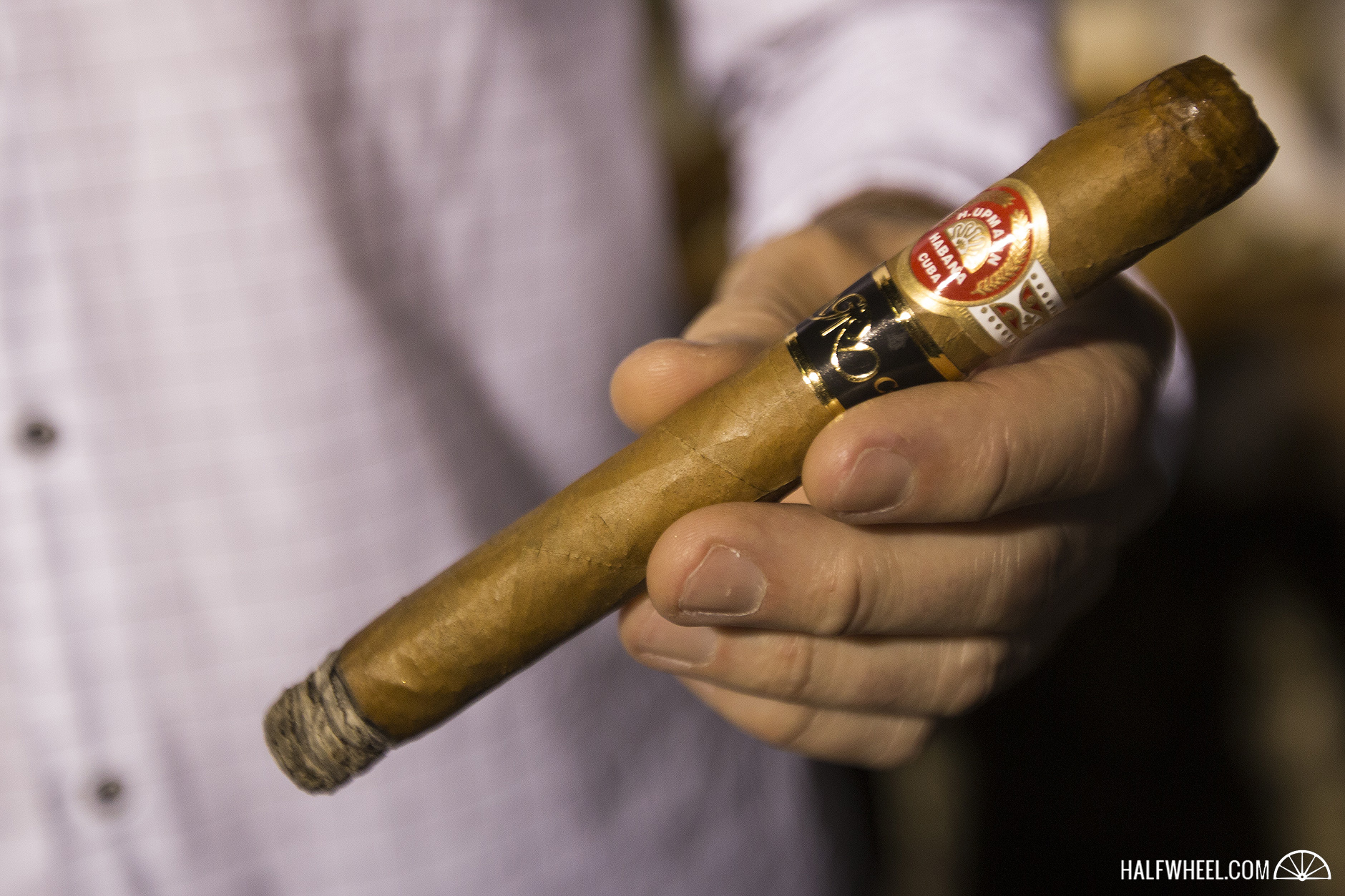 Festival del Habano XIX - Day 1 Welcome Evening Club Habana H. Upmann Sir Winston Gran Reserva Cosecha 2011