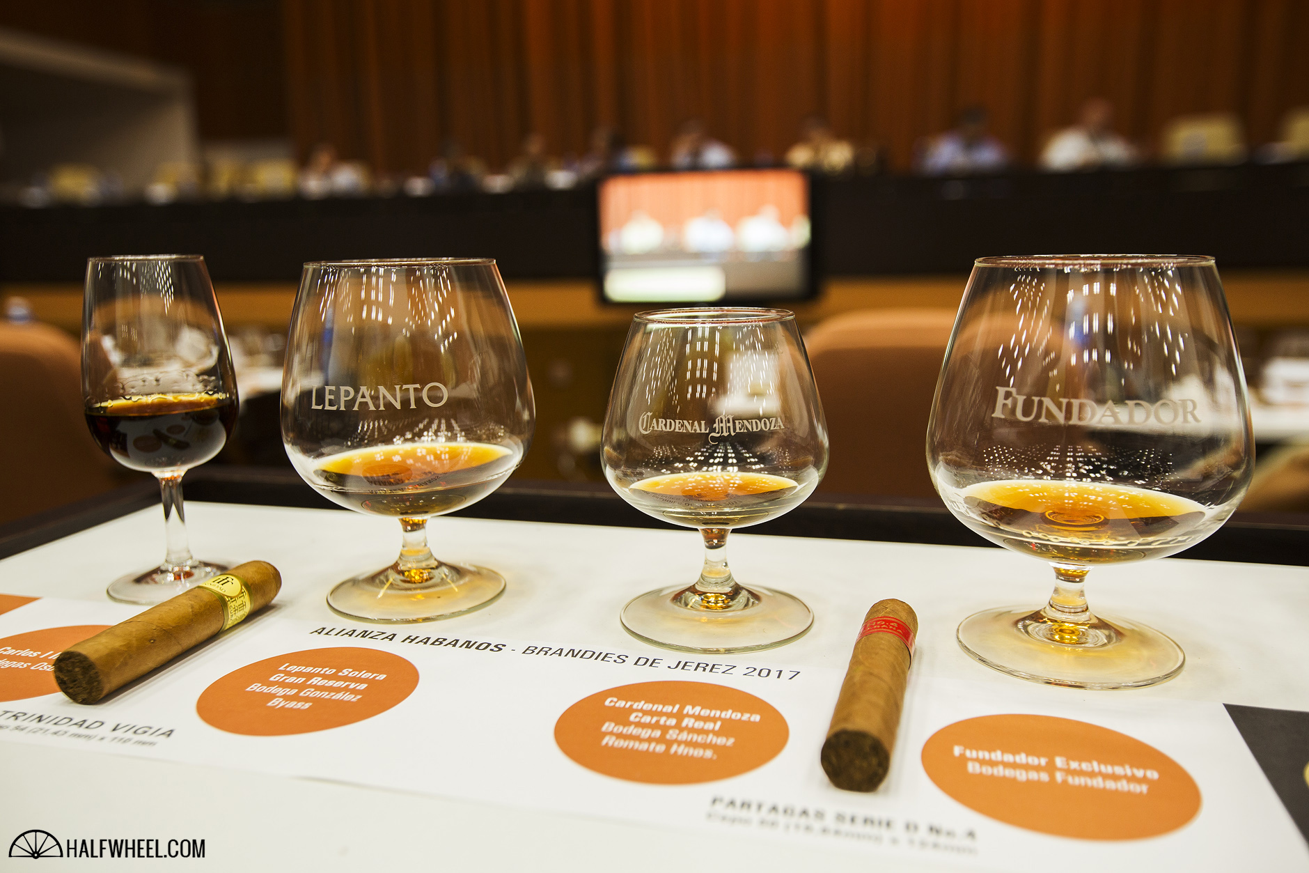 Festival del Habano XIX Day 2 Brandy and Cuban Cigar Pairing Seminar 1