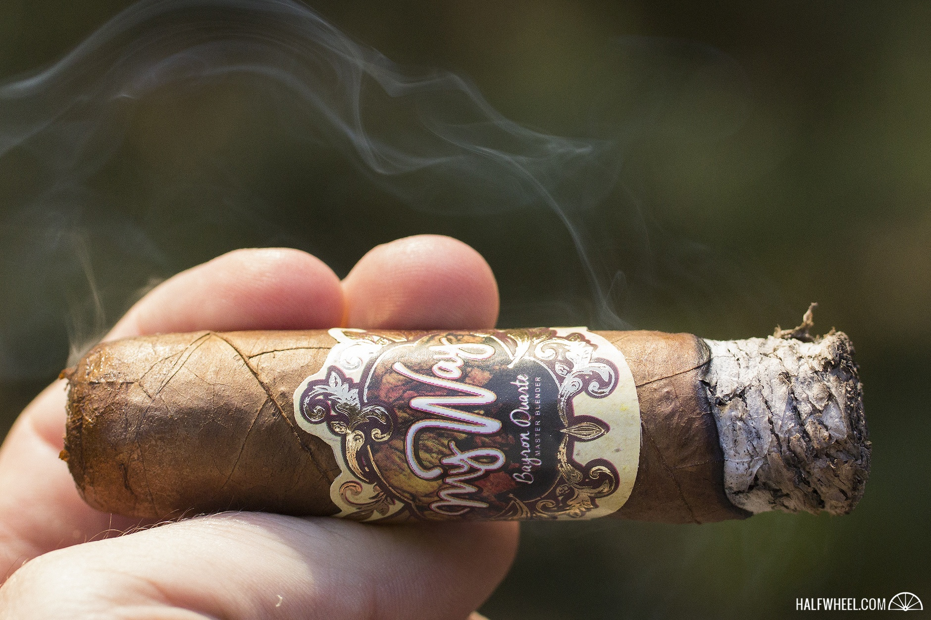 49a02cd27d The cigar has continued to stay on the mellow side of medium as it starts  its second third