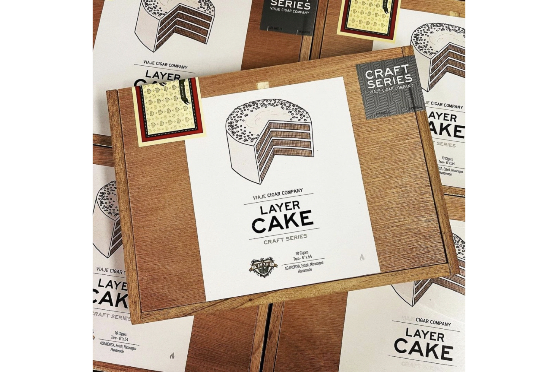 Viaje Layer Cake Arrives at Stores